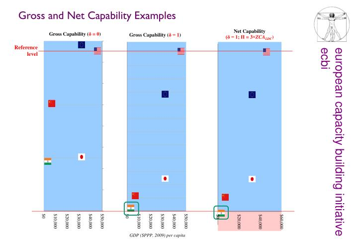 Gross and Net Capability Examples