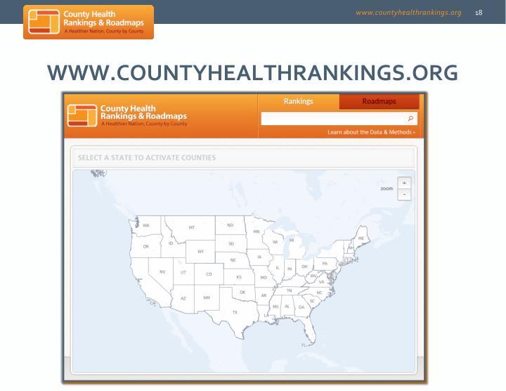 www.countyhealthrankings.org