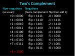 two s complement