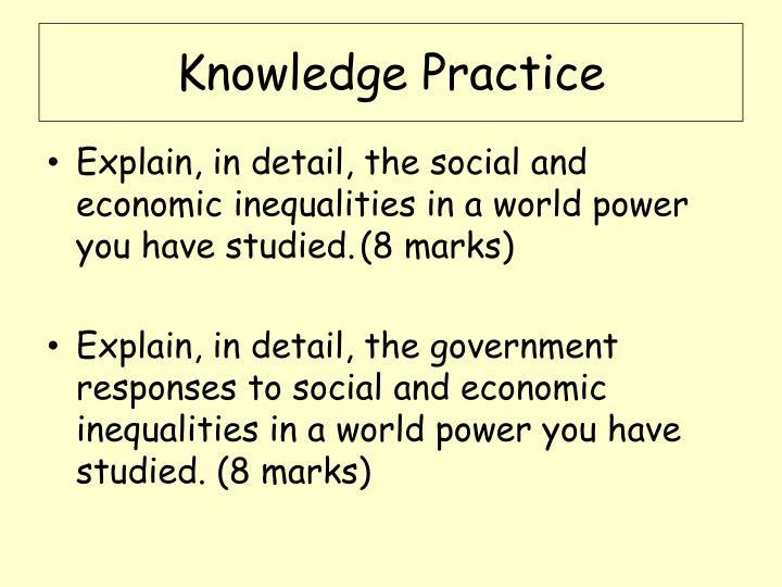 Knowledge Practice
