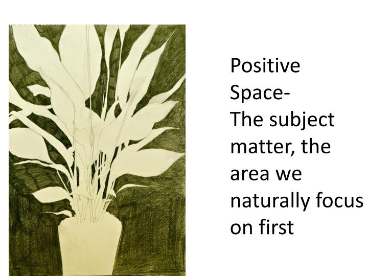 Positive Space-