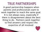 true partnerships