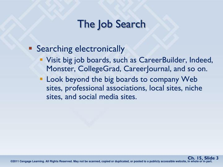 The job search1