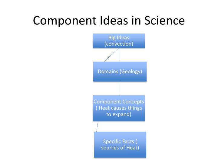 Component Ideas in Science