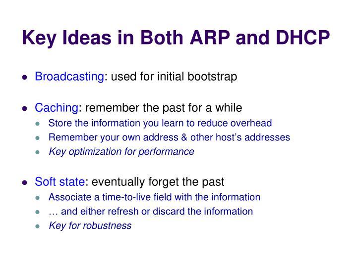 Key Ideas in Both