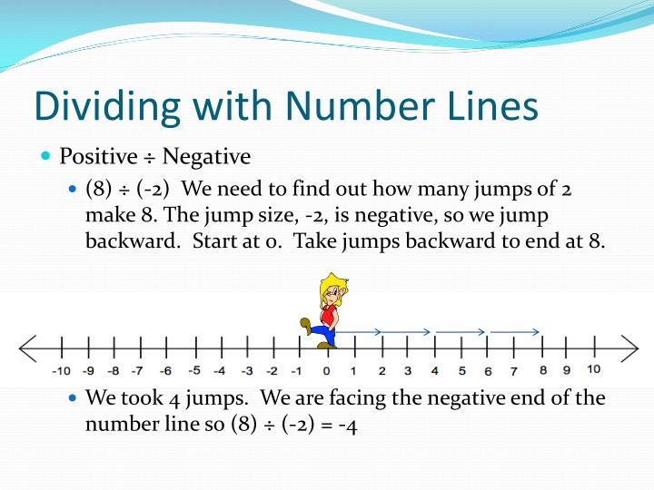 Dividing with Number Lines