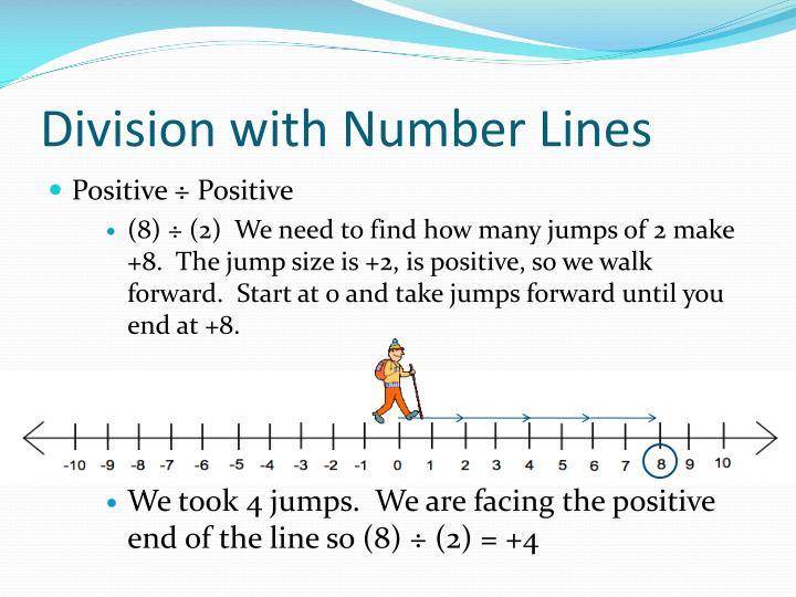 Division with Number Lines