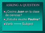 asking a question1