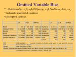 omitted variable bias1