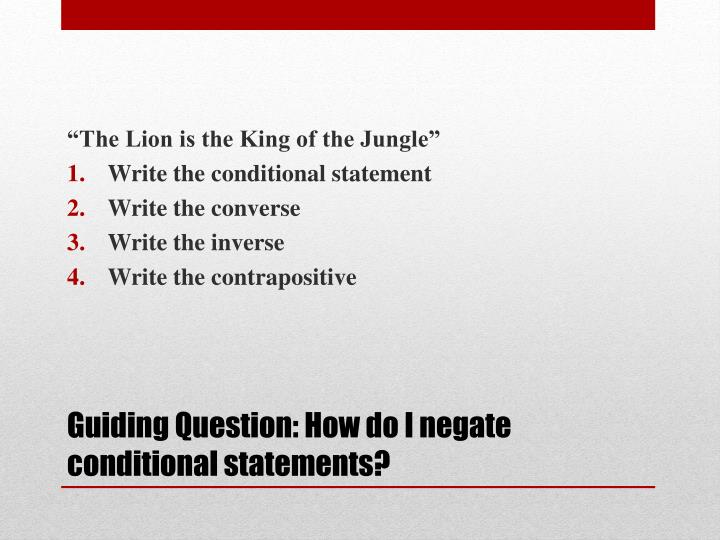 """""""The Lion is the King of the Jungle"""""""