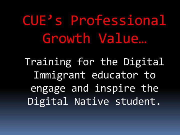 CUE's Professional