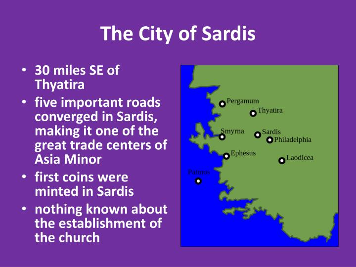 The City of Sardis