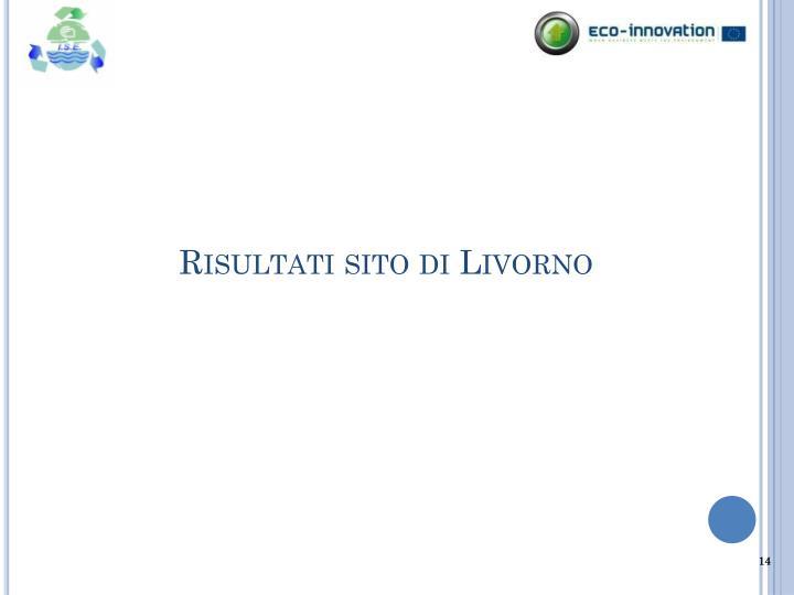 Risultati sito di Livorno
