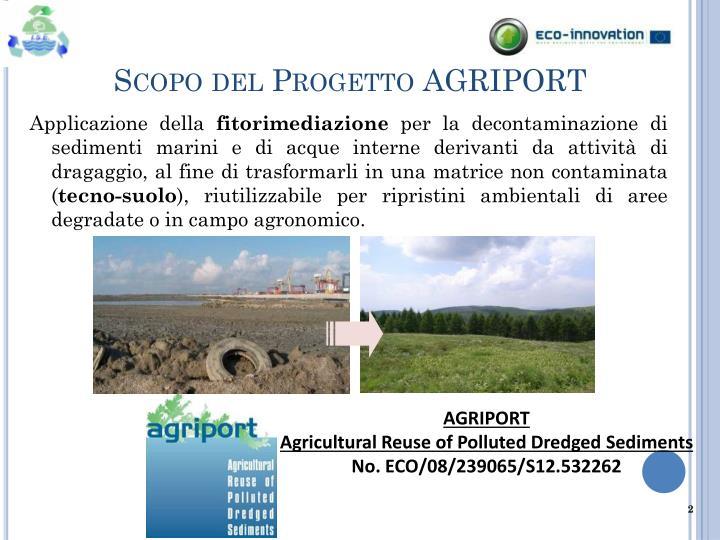 Scopo del Progetto AGRIPORT