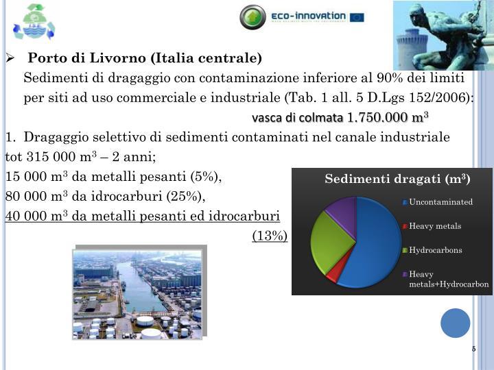 Porto di Livorno (Italia centrale)