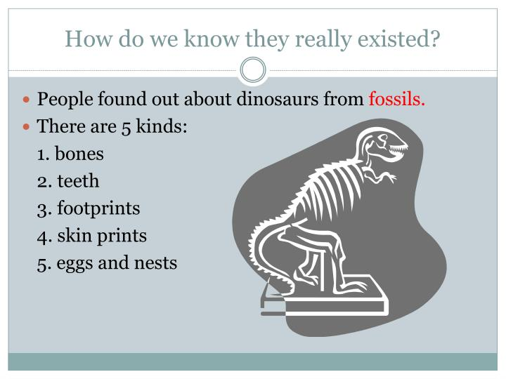 How do we know they really existed?