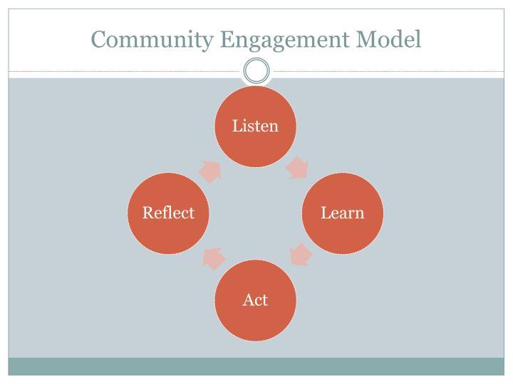 Community Engagement Model