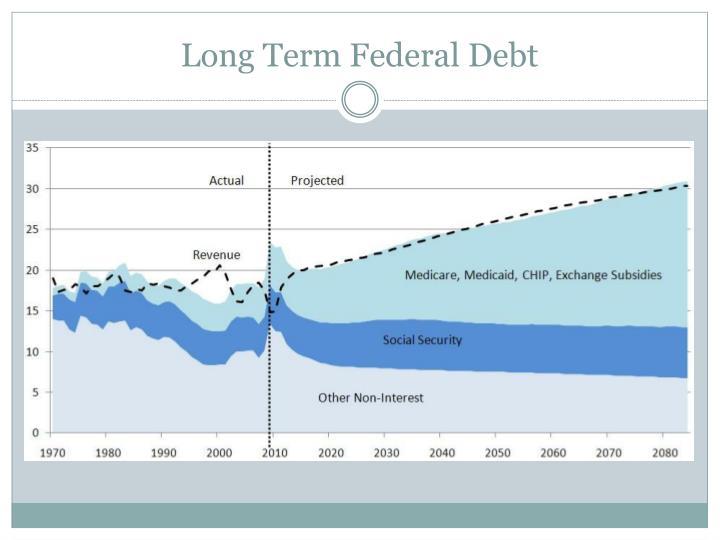 Long Term Federal Debt