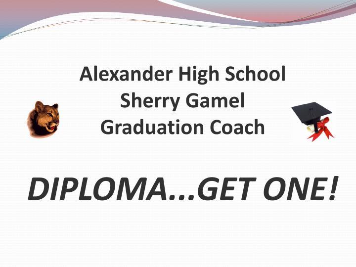 Alexander High School