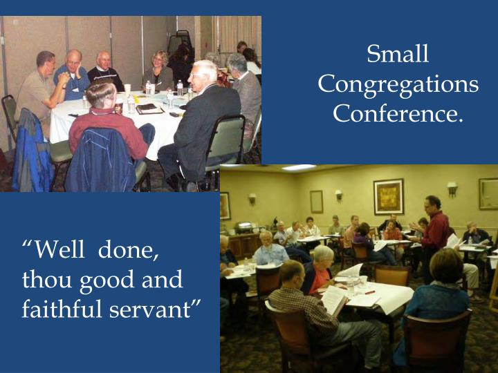 Small Congregations