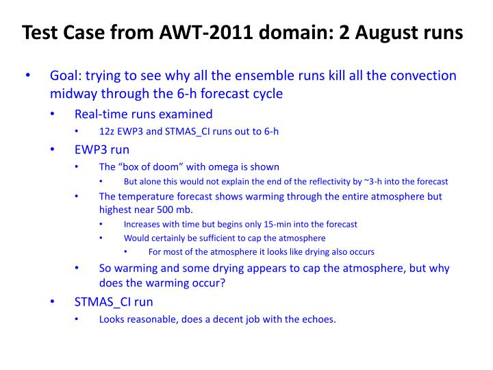 Test Case from AWT