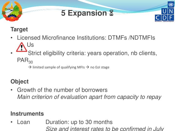 5 Expansion