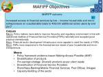 mafipp objectives