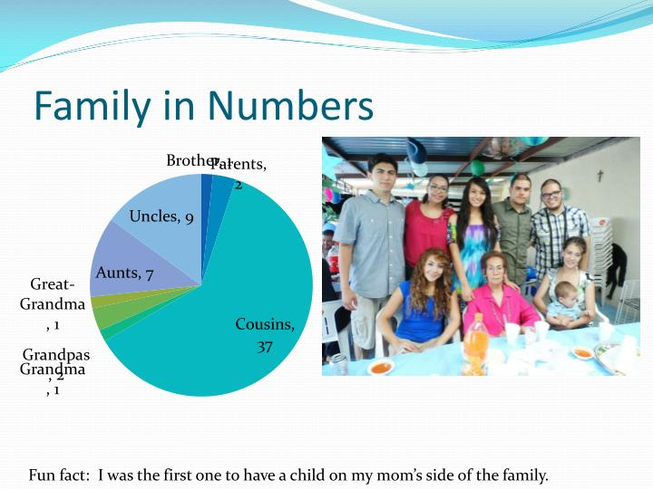 Family in Numbers