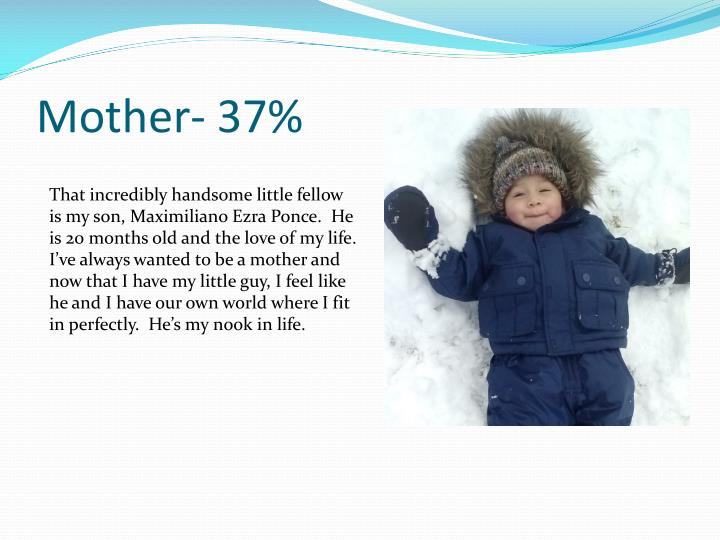 Mother- 37%