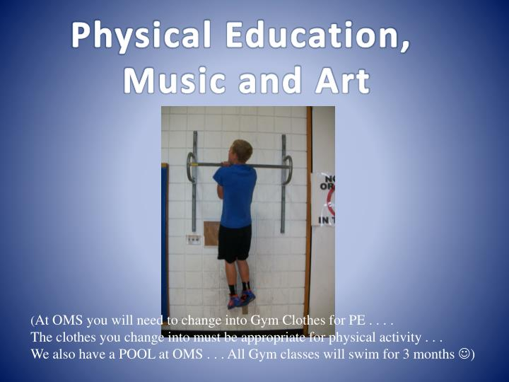 Physical Education,