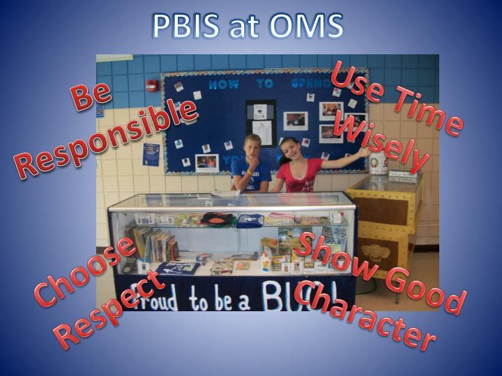 PBIS at OMS