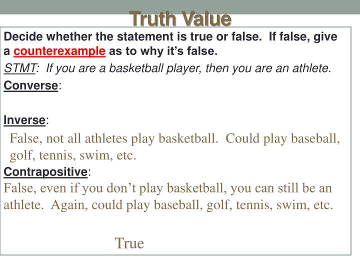Truth Value