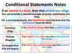 conditional statements notes1
