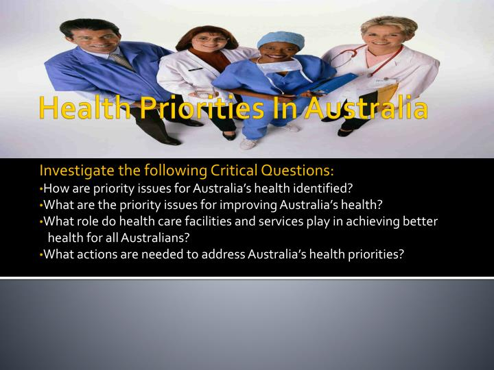Investigate the following Critical Questions: