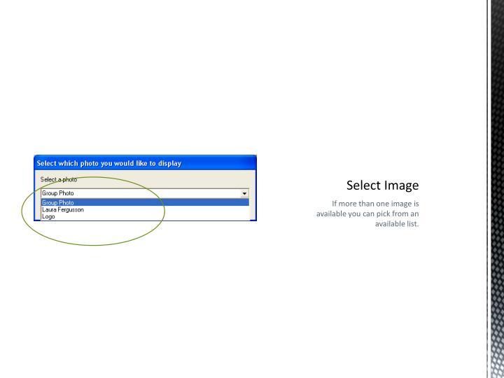 Select Image