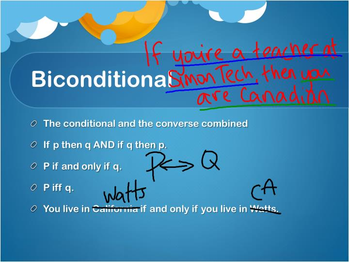 Biconditional