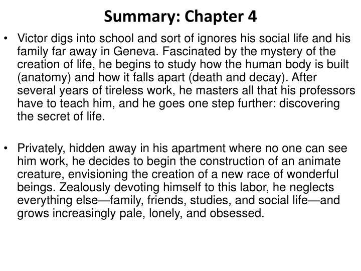 Summary: Chapter 4