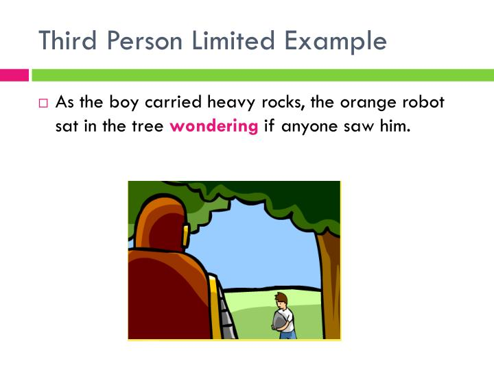 Third Person Limited Example
