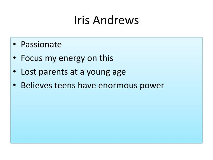 Iris Andrews