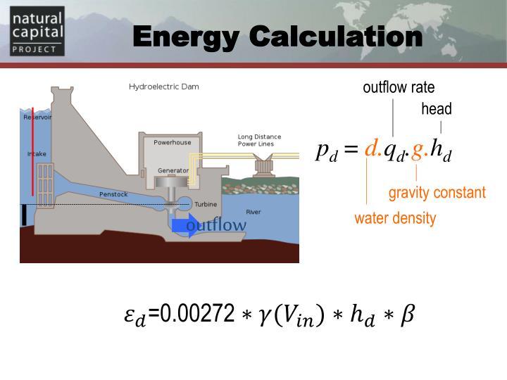 Energy Calculation