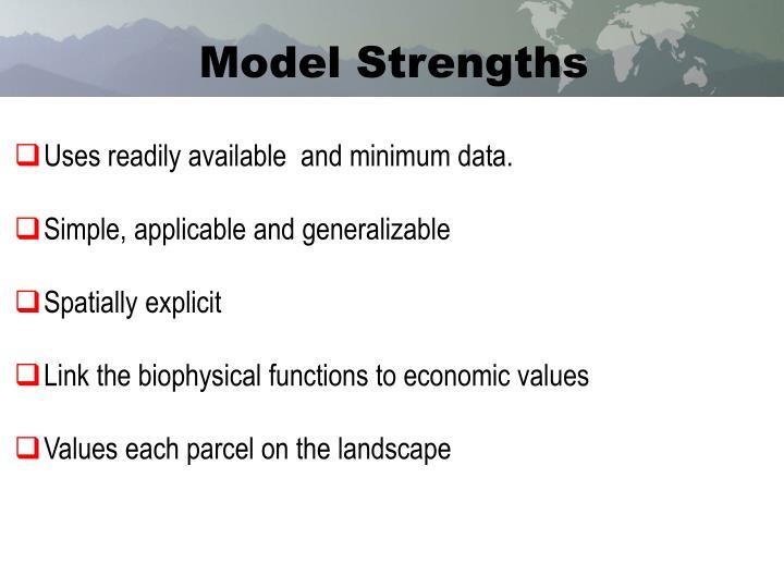 Model Strengths
