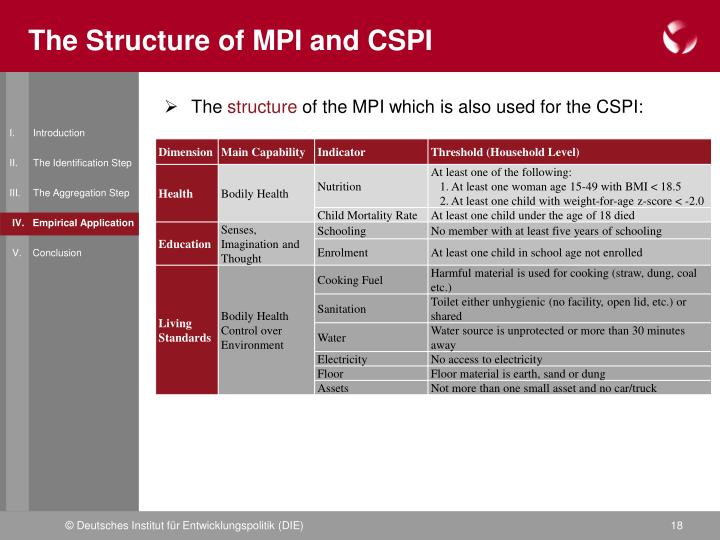 The Structure of MPI and CSPI
