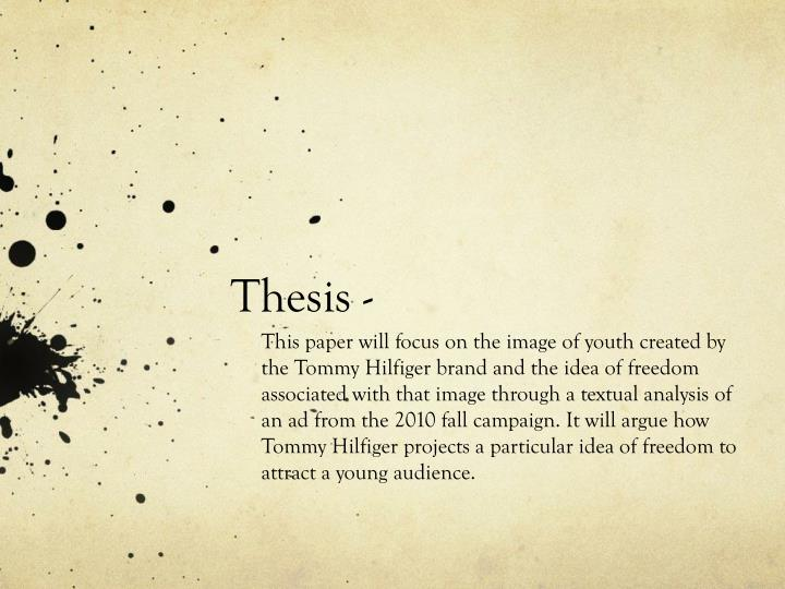Thesis -