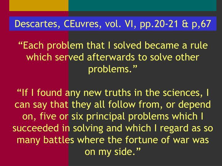 Descartes,