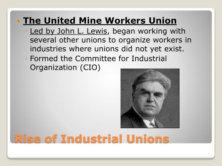 The United Mine Workers Union