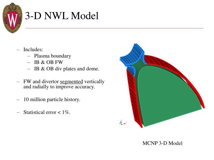 3-D NWL Model