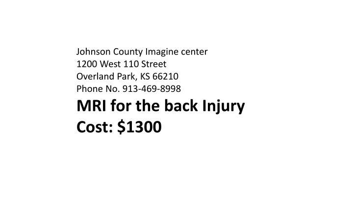 Johnson County Imagine center
