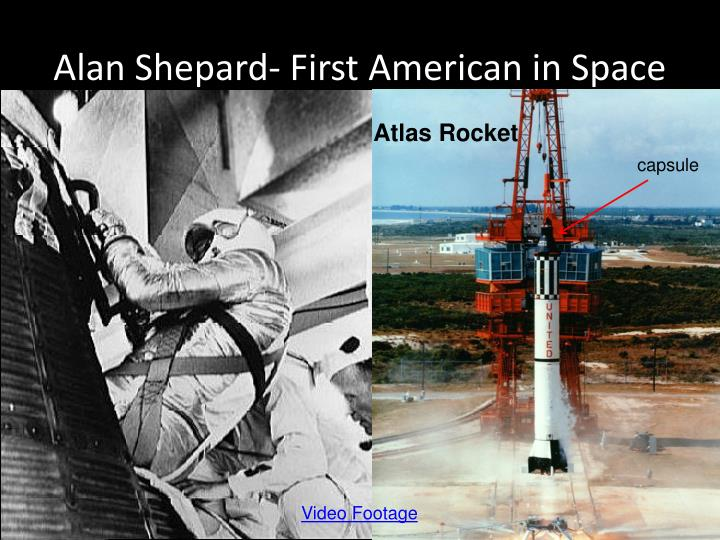 Alan Shepard- First American in Space