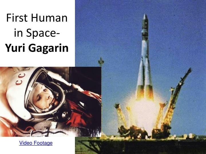 First Human in Space-