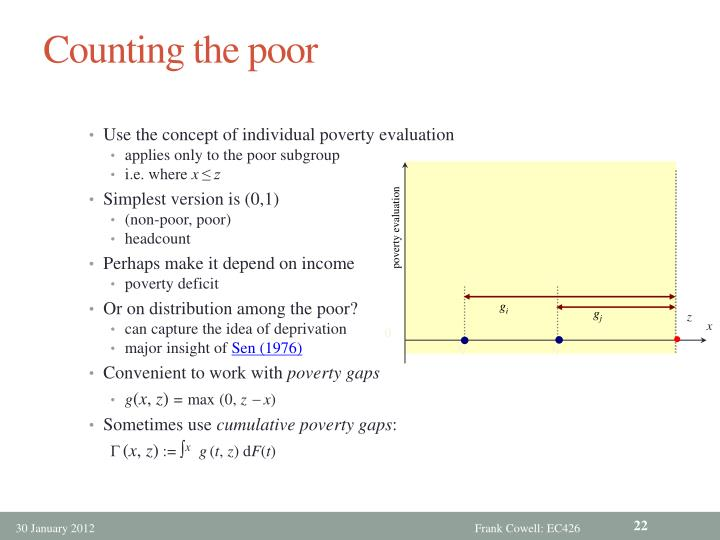 Counting the poor